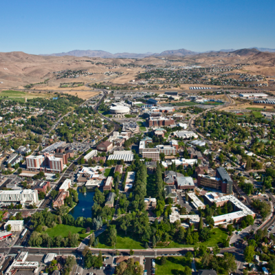 Ariel photo of Nevada Campus