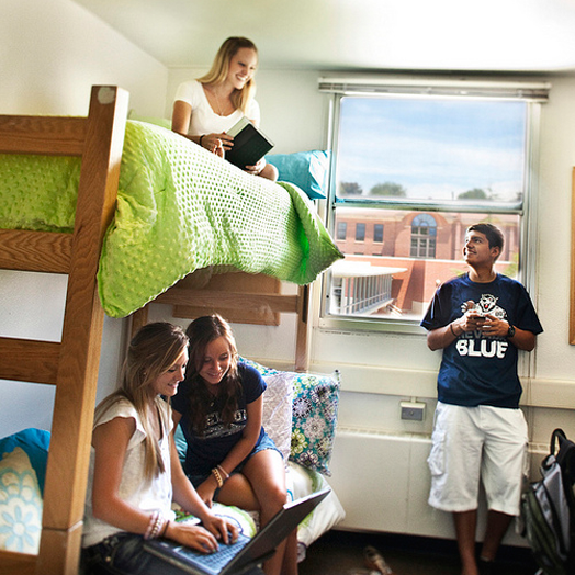 Residence Halls open