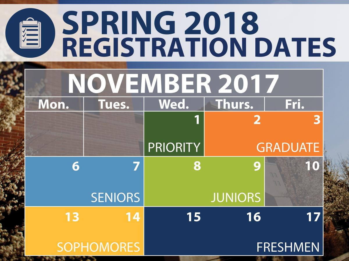 Spring Registration dates - find yours on MyNevada