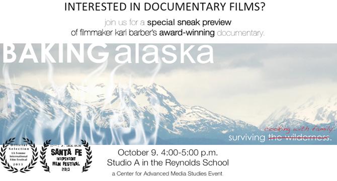 Award-winning film debuts at Reynolds School