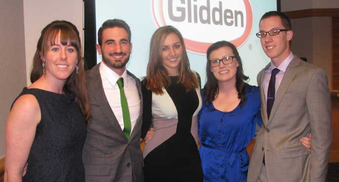 Integrated Marketing Communications team wins regional competition