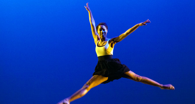 RSJ student to intern for NYC dance company