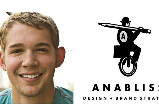 Anabliss logo and headshot of Joey Vestal