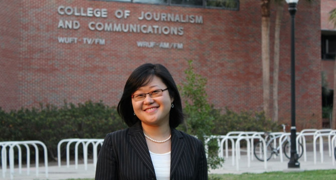 Chinese graduate student credits RSJ professors for her career success in America