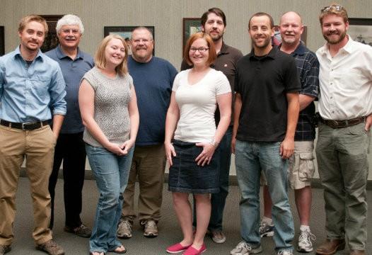 A group of Nevada Alumni