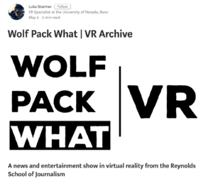 Wolf Pack What | VR Home Page