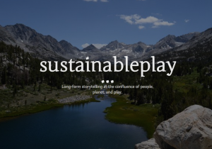 Sustainable Play screen shot