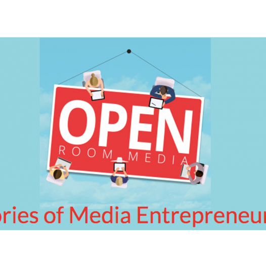 Open Room Media stories of media entrepreneurs podcast logo