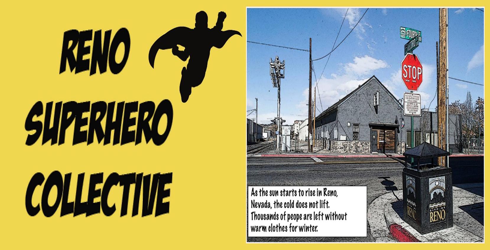 Reno Super Hero Collective media project