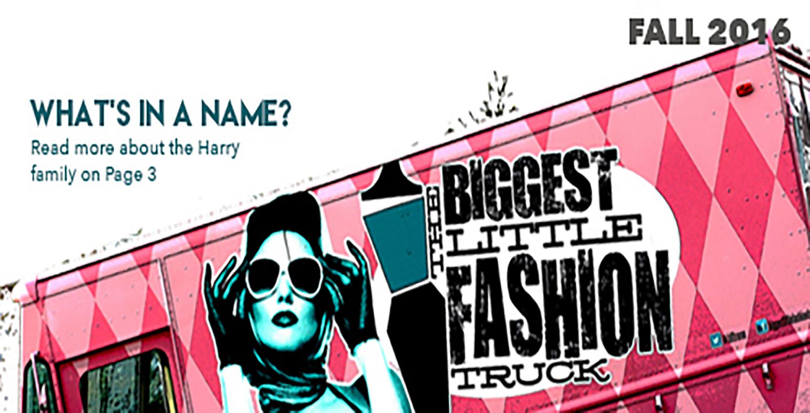 Fashion truck mock up, Fall 2016