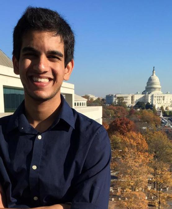 Freshman Shah Ahmad wins Newseum video contest