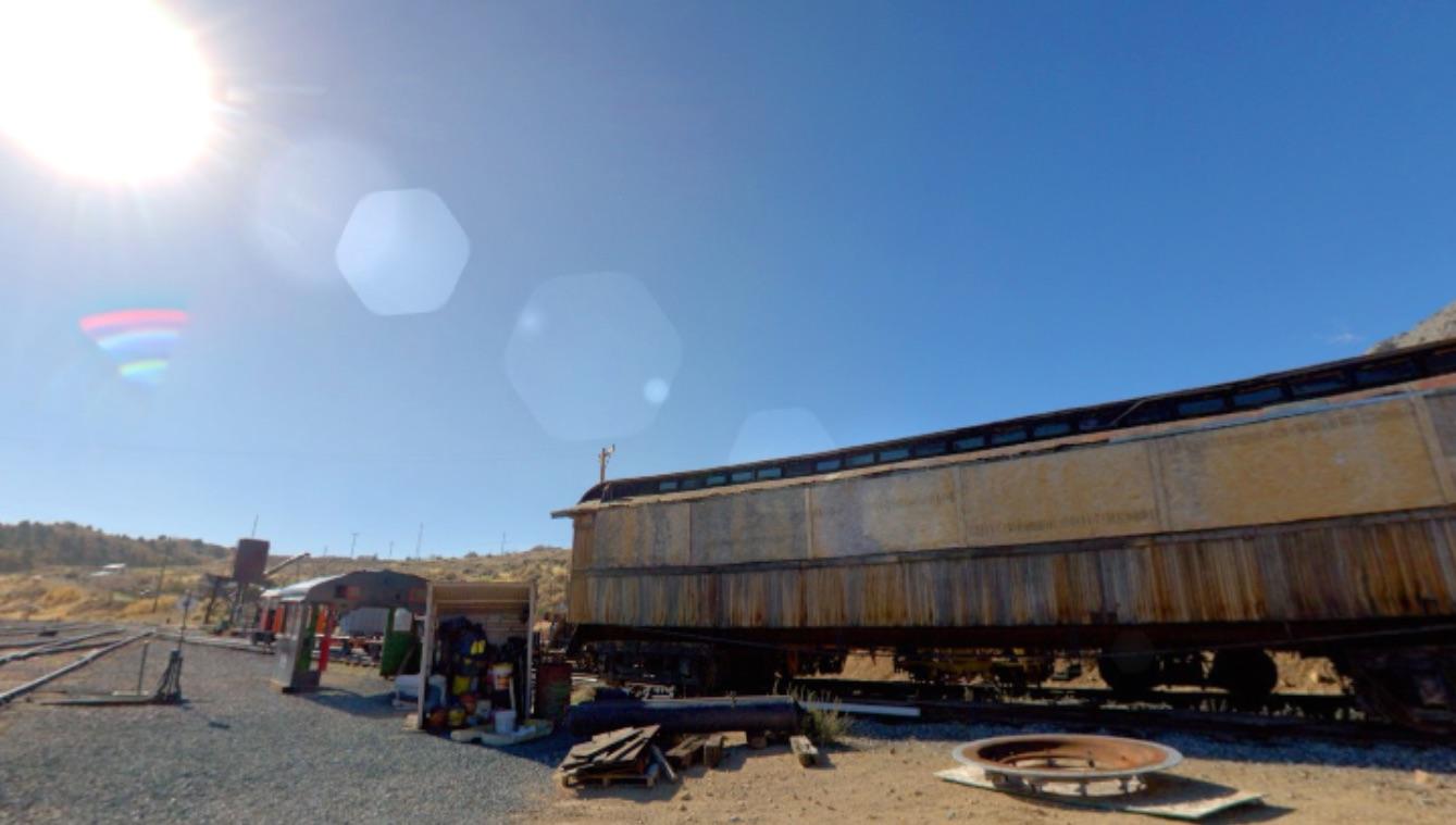 Virtual Reality: V&T Train yard