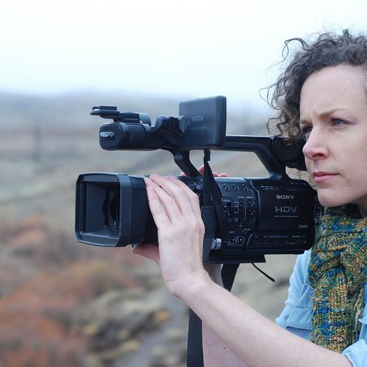 Professor Kari Barber teaches a short documentary class in the fall.