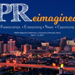PReimagined- a regional conference hosted here in Reno by PRSSA Nevada.