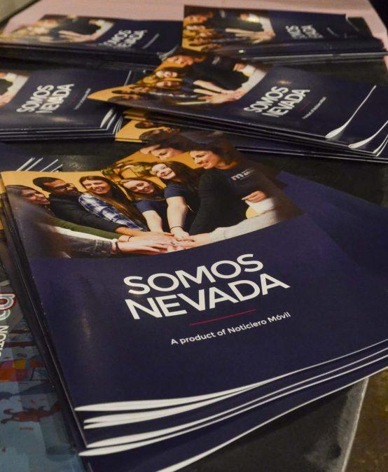 "Noticiero Móvil launches magazine ""Somos Nevada"" at Sierra Arts Foundation"