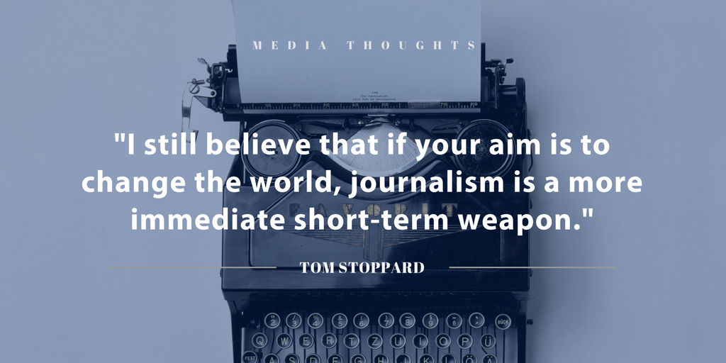 60 Inspiring Media Quotes Journalism Public Relations And Visual Delectable Journalism Quotes