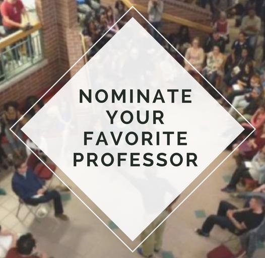 Nominate Your Favorite Professor