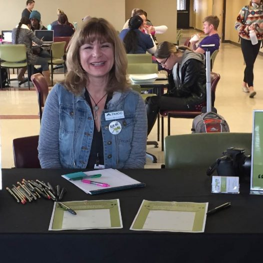 Patricia Bouweraerts at a Truckee Meadows Community College Event