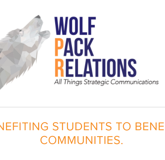 """Wolf Pack Relations"" prepares students to be public relations professionals, by treating them like PR pros"