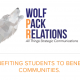 Wolf Pack Relations is a student-run public relations firm inside the Reynolds School of Journalism, in collaboration with PRSSA Nevada.
