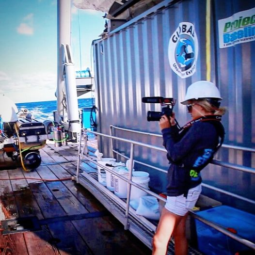 Amanda White has her dream job traveling with scuba divers and ocean conservationists. Photo: GUE/Project Baseline