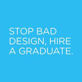 Stop bad design, hire a graduate.