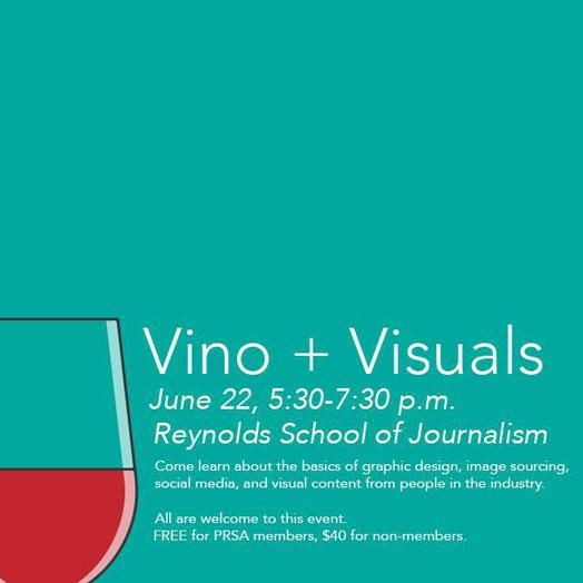 PRSA Presents: Vino + Visuals