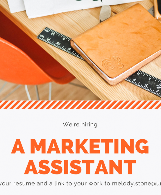 Now Hiring: Communication and Marketing Assistant, PT