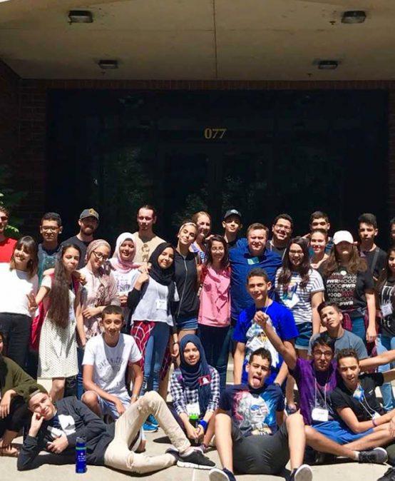 Algerian students work with Reynolds School professors through leadership program