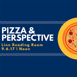 Pizza Perspective, Linn Reading Room, September Six at Noon