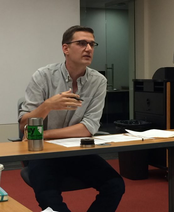 A Q&A With Professor Ben Birkinbine: What did you research this summer?