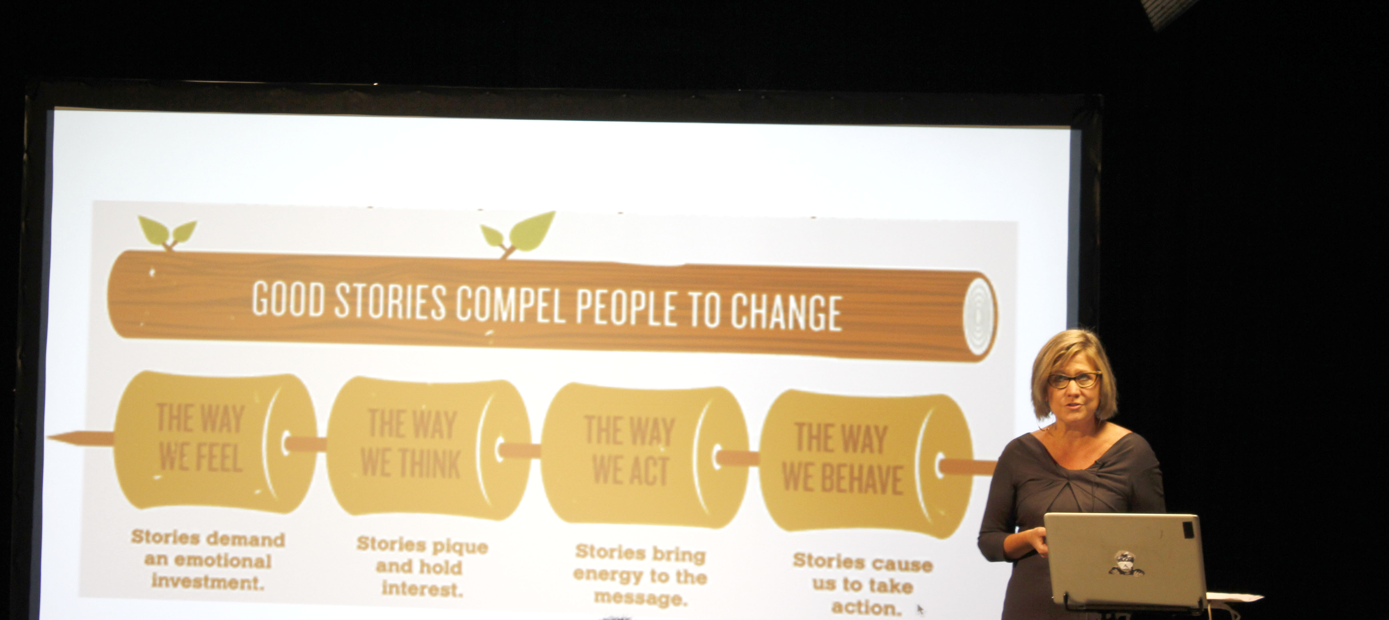 Starbucks Editor-In-Chief Challenges Students to Think Differently About Brand Journalism