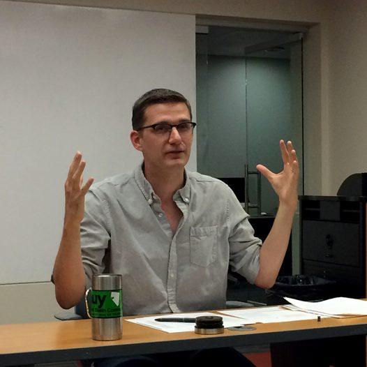 Ben Birkinbine Teaches in an RSJ Lab