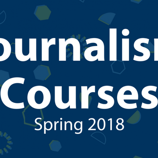 Journalism Courses, Spring 2017