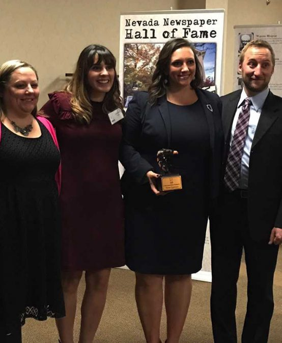 Patrick File takes First Amendment Champion Award, focuses on new doors open for Nevada students