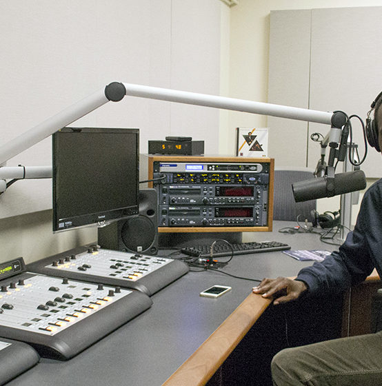 Kenyan graduate student documents American experience through podcasting