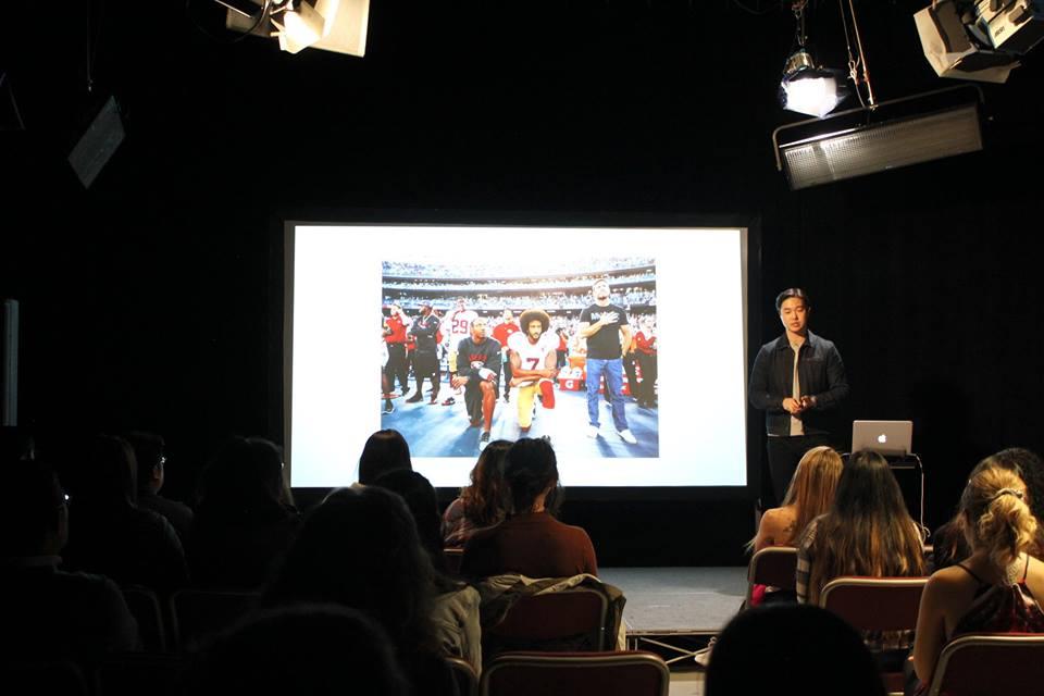 Activist and digital strategist Will Yu visits Reynolds School of Journalism