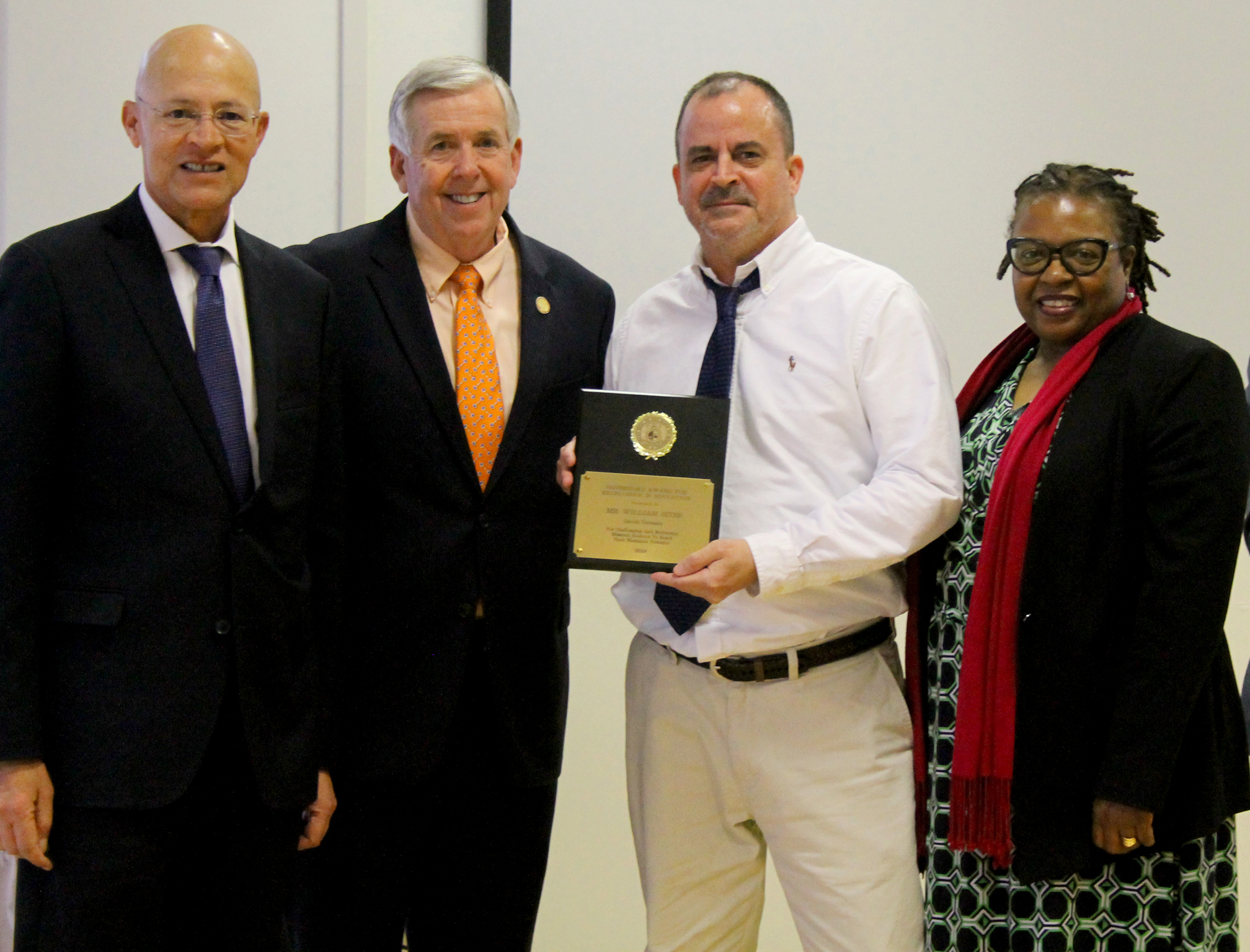 Reynolds School alumnus receives highest award given to public university educators