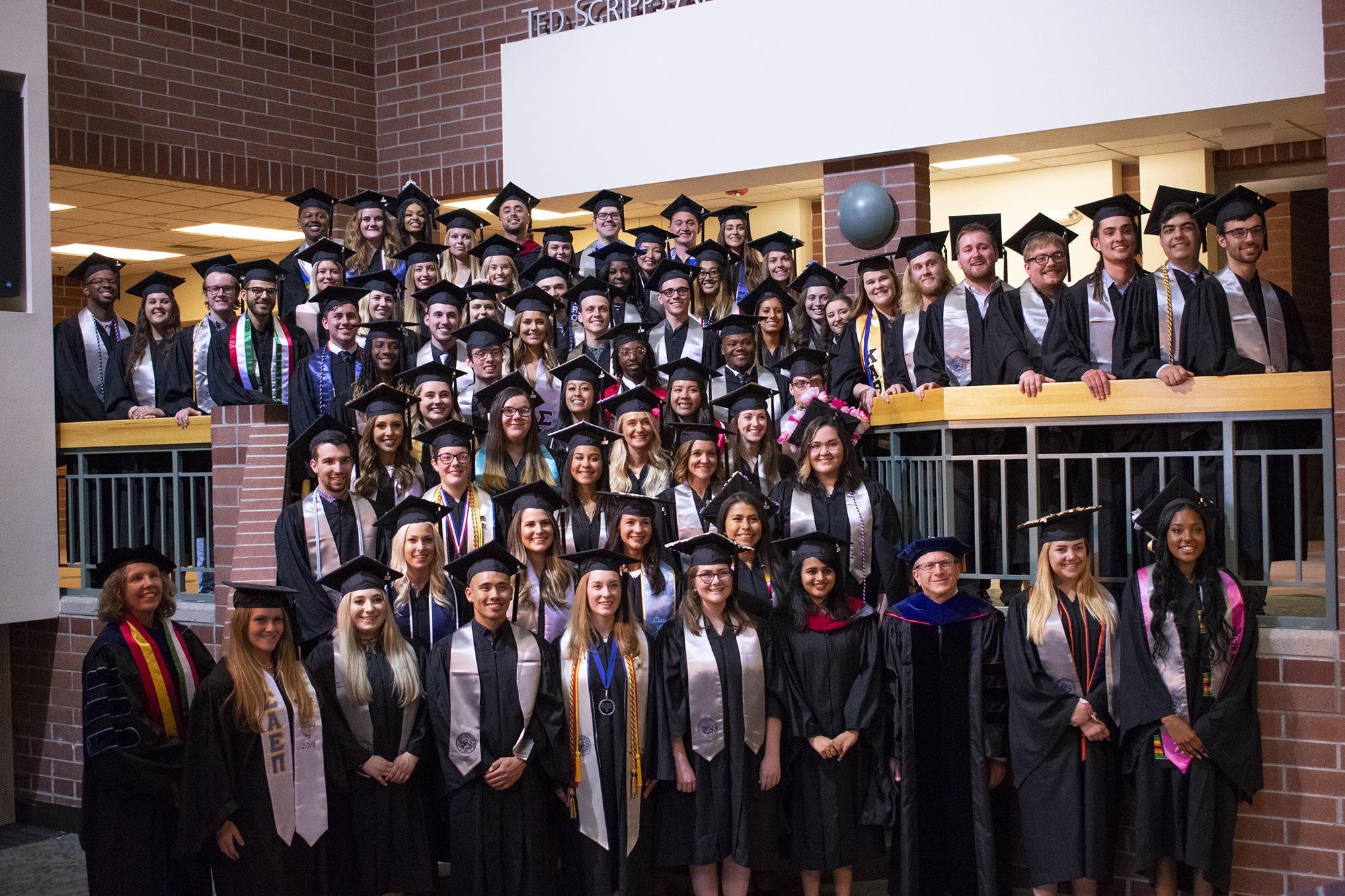 Graduation Ceremony Reception: Spring Class Of 2018 Rings In Commencement With Grad