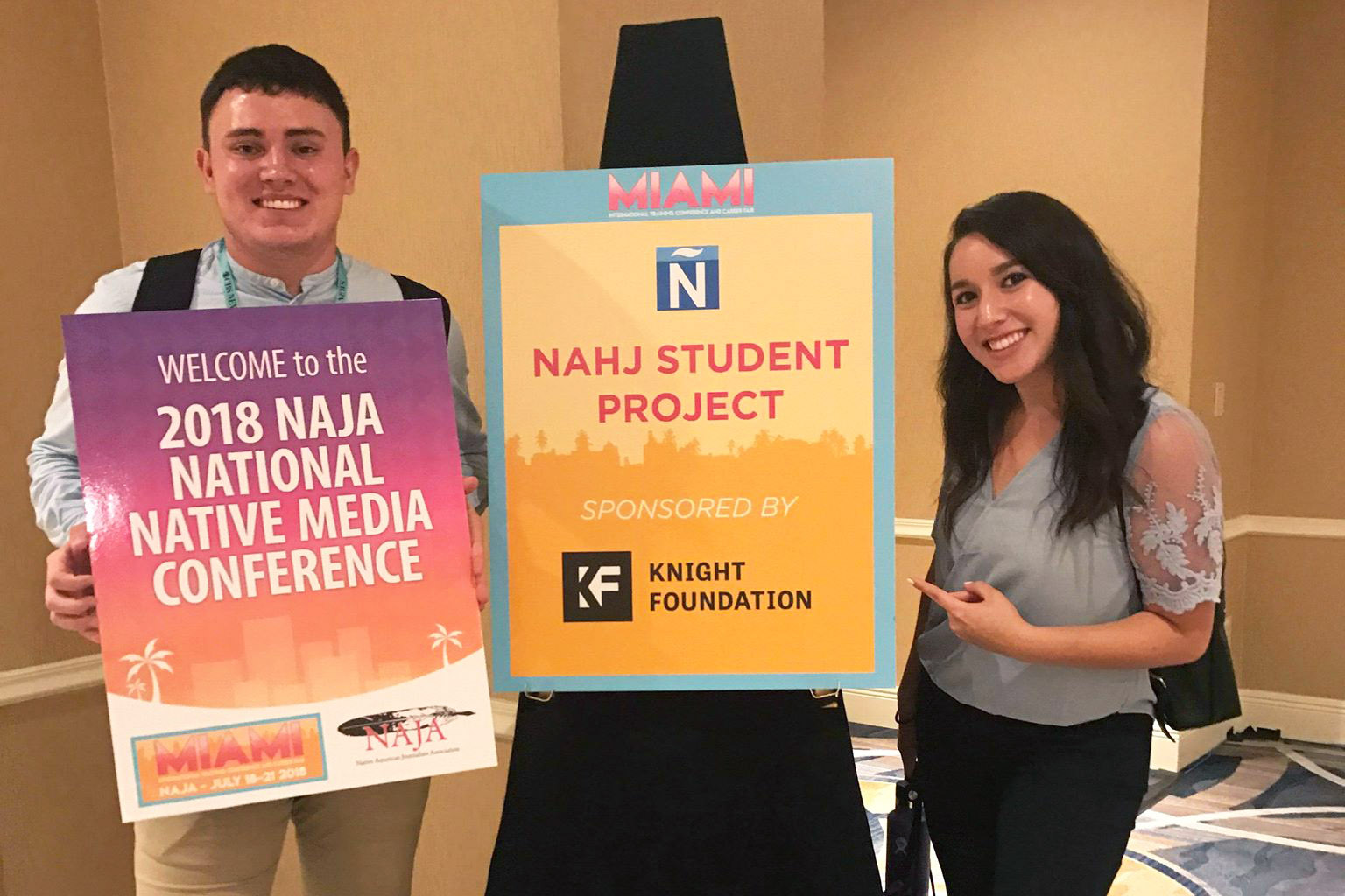 Reynolds students celebrate culture through student newsrooms and fellowships at national conferences