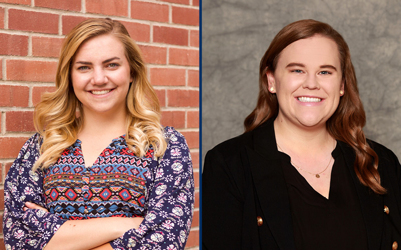 Two Reynolds School grads earn Certification in Principles of Public Relations